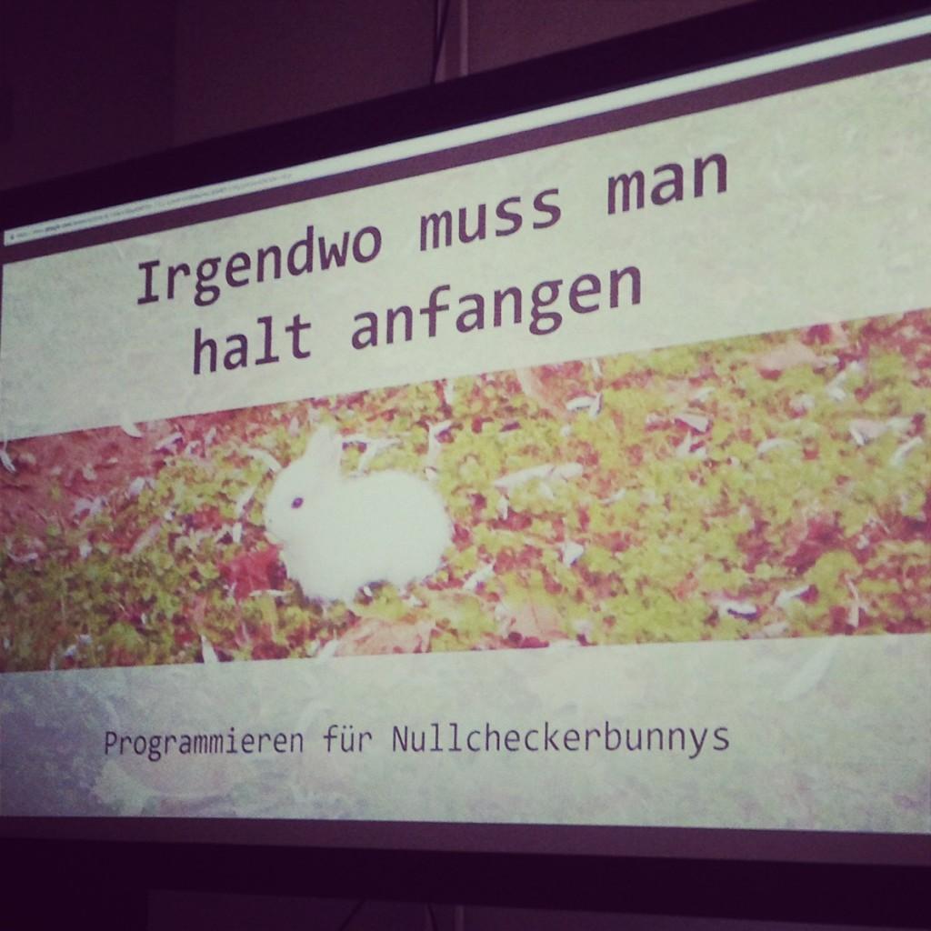 Programmieren! schokofisch.de