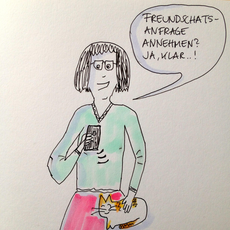 Freundschaftsanfragen | schokofisch.de