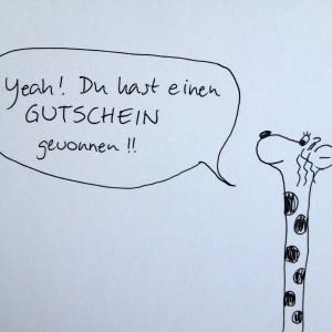 Gutscheingiraffe | schokofisch.de